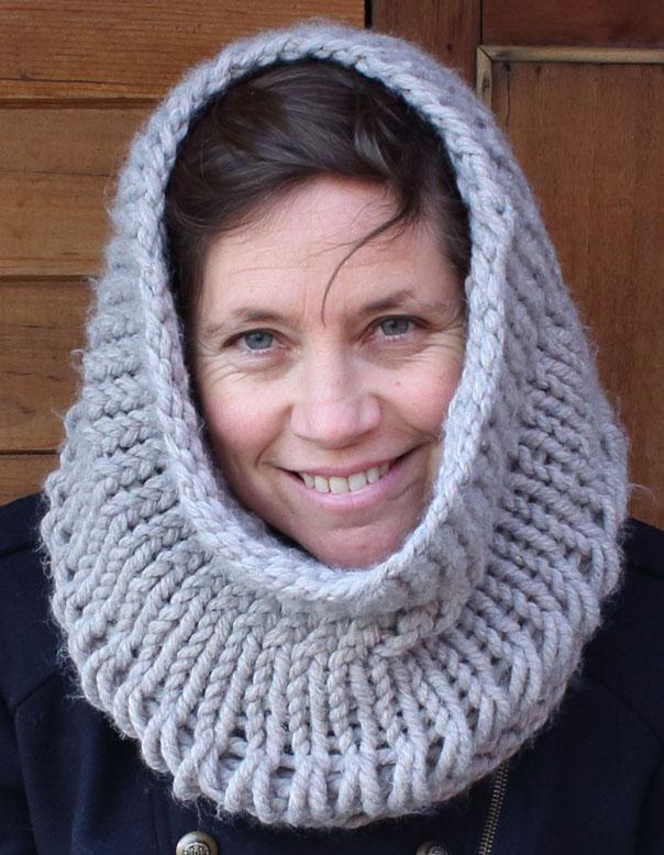 Cuello de lana a dos agujas - Imagui