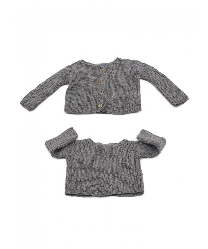 Chaqueta de lana para bebé Avilés