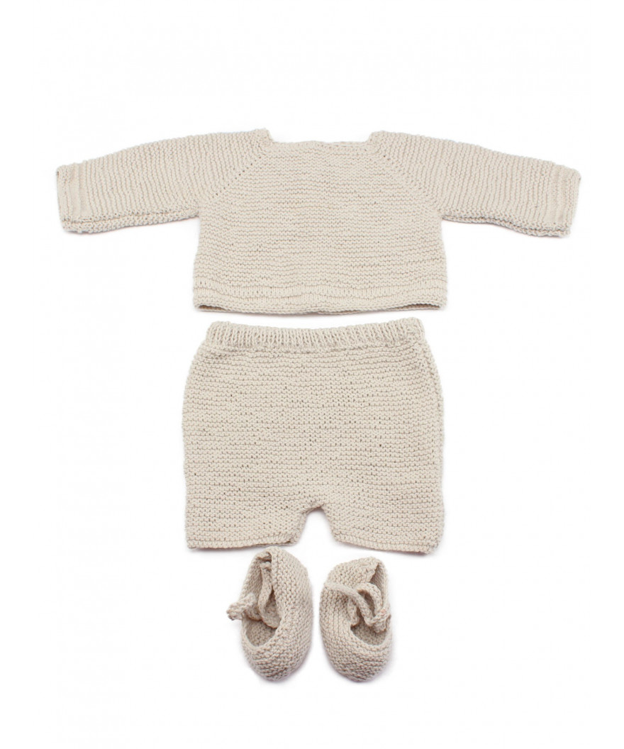 Jersey, pantalón y patucos de bebé recién nacido Badalona
