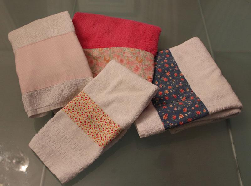 Cómo decorar unas toallas