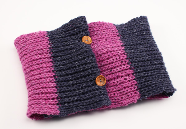 Truco para cuellos y bufandas de lana