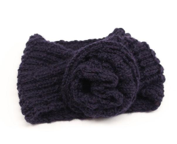 comunidad Desconocido Untado  Cuello de lana para niña con flor de ganchillo - Costurea Blog