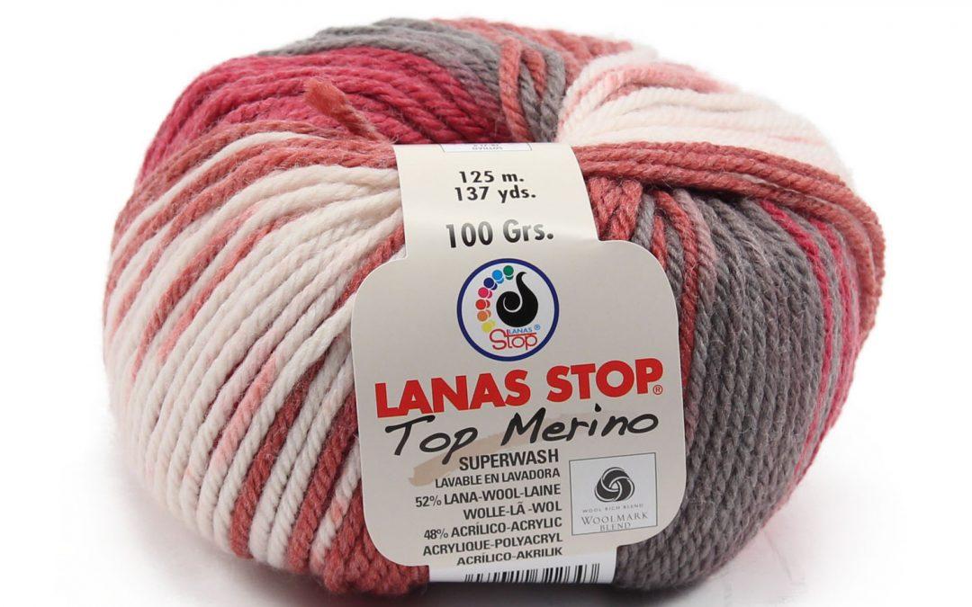 Nuevos colores de Lanas Stop Top Merino, Top Merino Multicolor y Moa Merino