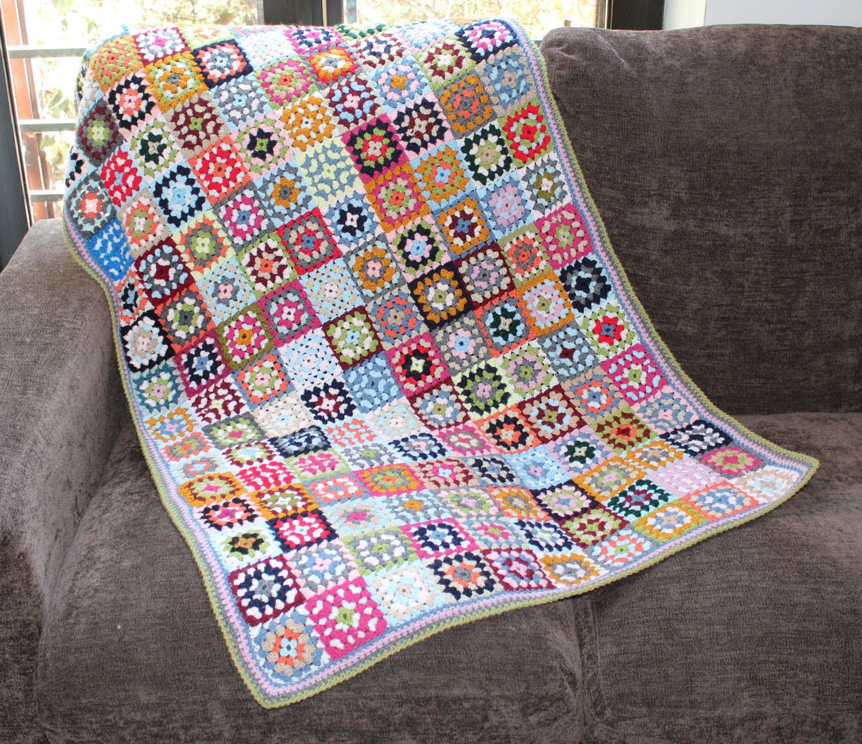 ... ganchillo: cuadrados de la abuela o granny squares - costurea.es/blog
