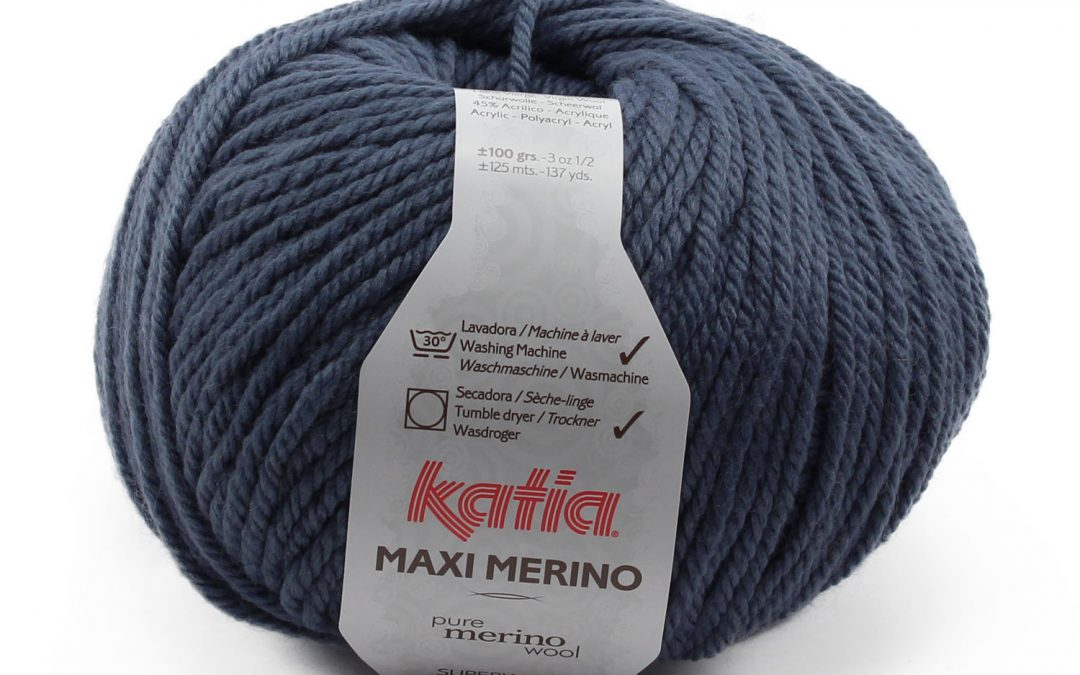 Nueva calidad de Katia en costurea: Maxi Merino