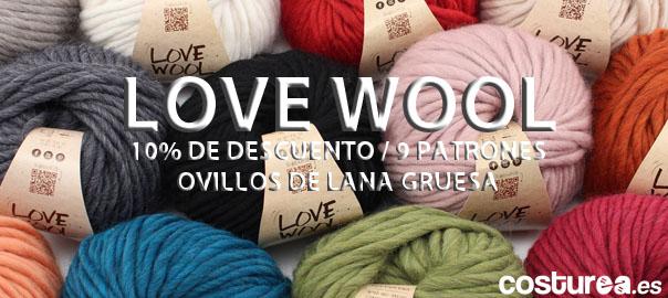 Patrones de Katia Love Wool y descuento