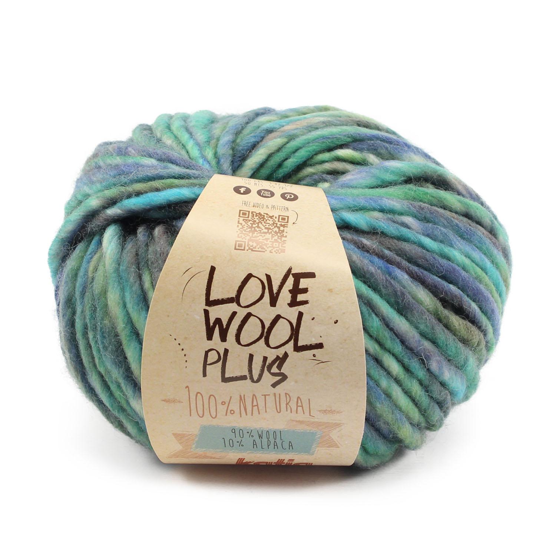 lanas-katia-love-wool-204-verde-azul-verde-oscuro