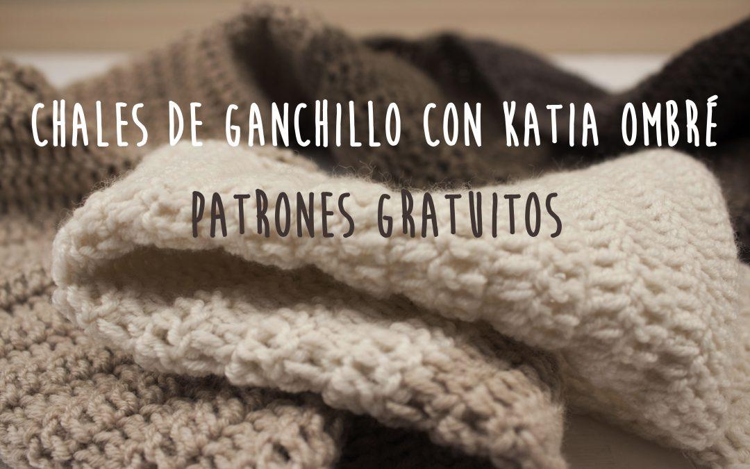 Chal de ganchillo con Katia Ombré - Costurea Blog