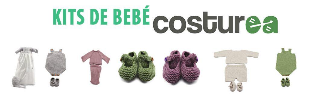 Kits de tejer para bebé como regalos DIY de navidad