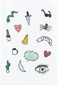 Diagrama para bordar Chica mala
