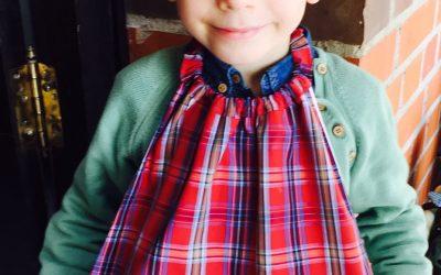 Telas infantiles: Cómo hacer baberos servilleta