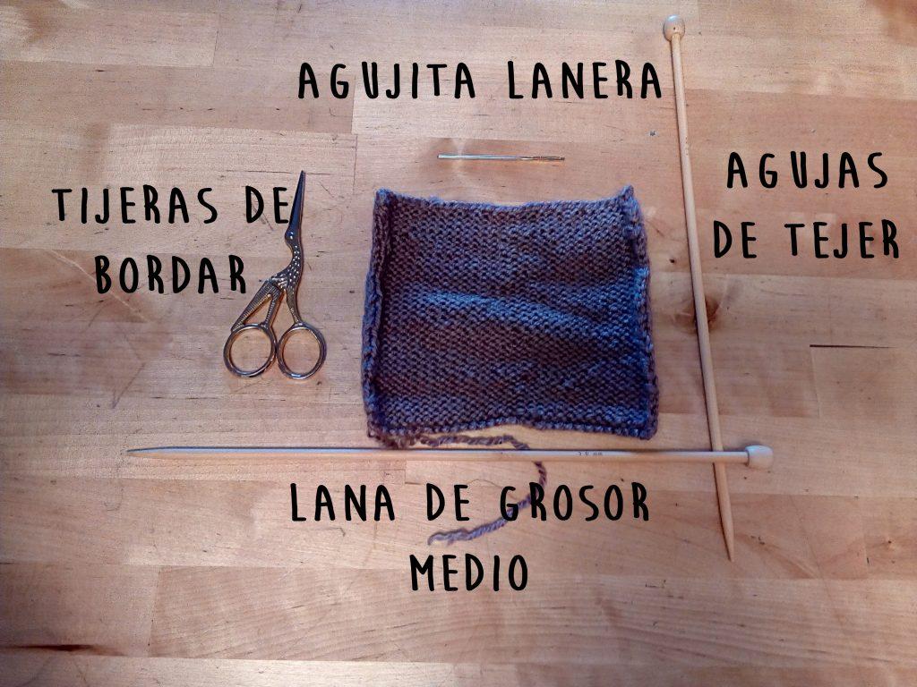 Materiales para hacer tus pajaritas de lana como regalos del día del padre