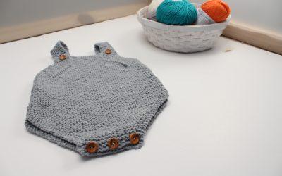 Peto para bebé de algodón – Patrón gratuito