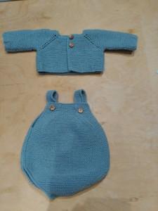 remate para prendas de bebé peto de algodon