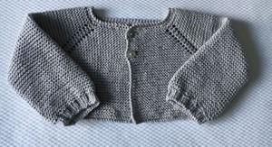 remate para prendas de bebé punto elastico