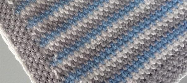 Mantas de ganchillo para bebés – Patrón gratuito - Costurea Blog