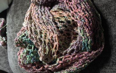 Cuello de ganchillo algodón: patrón gratuito