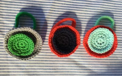 Coleteros para niña en forma de lazo o redondos DIY