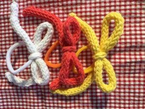 lazos con cordón