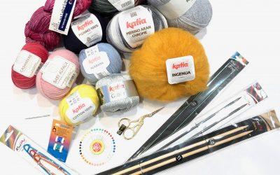 Breve guía de tejer: elección del material