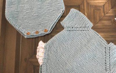 Ranita manga corta algodón: instrucciones detalladas