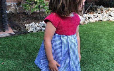 Vestido niña 3 años ganchillo
