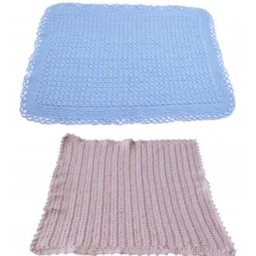 Mantas bebé lana